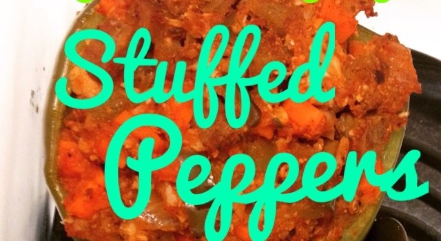 Pantry cooking and Stuffed Peppers